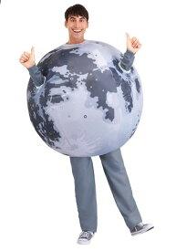 Inflatable Moon 大人用 コスチューム ハロウィン メンズ コスプレ 衣装 男性 仮装 男性用 イベント パーティ ハロウィーン 学芸会 学園祭 学芸会 ショー お遊戯会 二次会 忘年会 新年会 歓迎会 送迎会 出し物 余興 誕生日 発表会 バレンタイン ホワイトデー