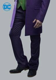 THE ジョーカー Slim Fit Suit Pants (Authentic) ハロウィン メンズ コスプレ 衣装 男性 仮装 男性用 イベント パーティ ハロウィーン 学芸会 学園祭 学芸会 ショー お遊戯会 二次会 忘年会 新年会 歓迎会 送迎会 出し物 余興 誕生日 発表会 バレンタイン ホワイトデー