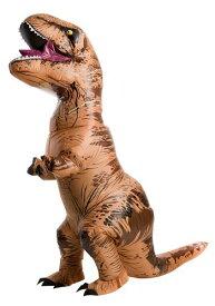 Jurassic World 大人用 大きいサイズ Inflatable T-Rex コスチューム ハロウィン メンズ コスプレ 衣装 男性 仮装 男性用 イベント パーティ ハロウィーン 学芸会