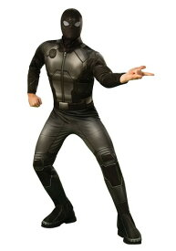 デラックス スパイダーマン Far From Home Stealth Suit 大人用 コスチューム ハロウィン メンズ コスプレ 衣装 男性 仮装 男性用 イベント パーティ ハロウィーン 学芸会