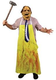 Texas Chainsaw Massacre 大人用 Leatherface コスチューム ハロウィン メンズ コスプレ 衣装 男性 仮装 男性用 イベント パーティ ハロウィーン 学芸会