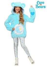 ケアベア デラックス Bedtime Bear Tween Hoodie コスチューム クリスマス ハロウィン 子ども コスプレ 衣装 仮装 こども イベント 子ども パーティ ハロウィーン 学芸会