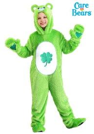ケアベア チャイルド Classic Good Luck Bear コスチューム クリスマス ハロウィン 子ども コスプレ 衣装 仮装 こども イベント 子ども パーティ ハロウィーン 学芸会