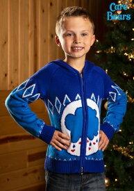 チャイルド ケアベア Grumpy Bear Zip Up Knit Sweater クリスマス ハロウィン 子ども コスプレ 衣装 仮装 こども イベント 子ども パーティ ハロウィーン 学芸会