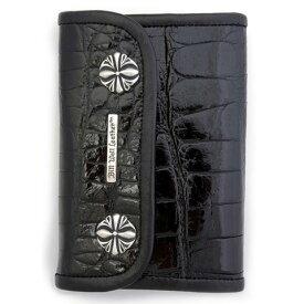 ビルウォールレザー BWL Bill Wall Leather W980 | MED LARGE CURRENCY Wallet - Shiny Alligator Skin.. One of a Kind Custom(1点物)
