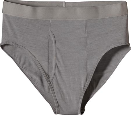 パタゴニア Patagonia Merino 1 Silkweight Briefs - Feather Grey アンダーウェア 下着