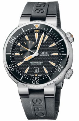 Oris オリス TT1 Divers Small Second Date Men's Watch 男性用 メンズ 腕時計 64376098454RS