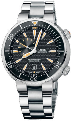 Oris オリス TT1 Divers Small Second Date Men's Watch 男性用 メンズ 腕時計 64376098454MB