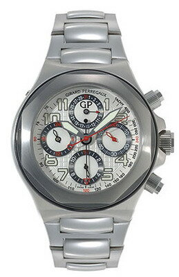 Girard Perregaux Laureato Men's Watch 男性用 メンズ 腕時計 80180-11-113-11A