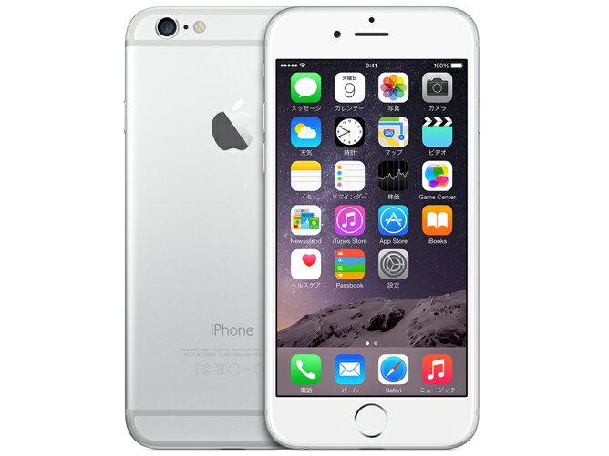 Apple iPhone6 16GB シルバー SIMフリー整備済製品 格安SIM 対応 アイフォン6 silver 海外版
