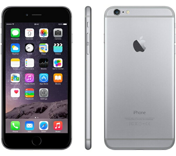 【スマホエントリーで10倍】Apple iPhone6 Plus 16GB スペースグレイ SIMフリー整備済製品 格安SIM対応 アイフォン6s プラス space gray 海外版