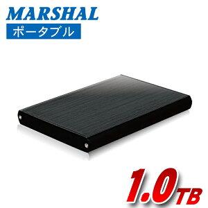 ポータブル外付けハードディスクHDD1TBテレビ録画USB3.0スリム外付けHDDアルミ素材TV録画REGZABRAVIAAQUOSVIERAMAL21000LEX3-MK