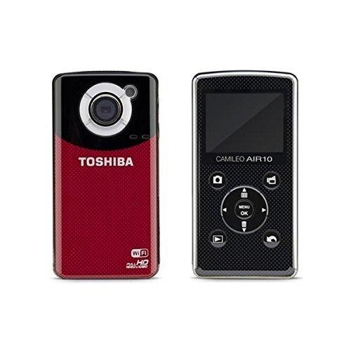 東芝 TOSHIBA ビデオカメラCamileo Air10 PA3906U-1C1R【SDカード4GB付き】wi-fi HDMI フルHD コンパクト