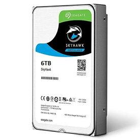 3.5インチ 内蔵HDD 6TB SEAGATE ST6000VX0023 SkyHawk Surveillance HDD SATA 256MB【新品3年保証付】