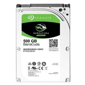 2.5インチ HDD 500GB SEAGATE ST500LM030 5400rpm SATA 128MB 7mm【メーカーリファブ】