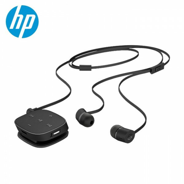 【HP ヒューレット・パッカード】J2X01AAUUFワイヤレス イヤホン Bluetooth カナル型 ブラック
