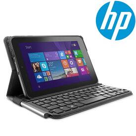 タブレット ケース 8インチ Bluetooth キーボード hp ヒューレット・パッカード Pro Tablet 408用 純正 K8P76AA ブラック