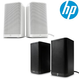 【エントリーでポイント10倍!9/20限定】HP スピーカー USB給電 4W 3.5mm ステレオミニプラグ ヘッドホン端子 接続 ヘッドホンジャック 搭載 ブラック 黒 ホワイト 白 純正品 PC スピーカー ヒューレット・パッカード HP 2.0 Black S5000 Speaker System K7S75AA-UUF