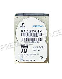 MARSHAL 2.5インチ 内蔵ハードディスク 80GB SATA MAL2080SA-T54 (5400rpm 9.5mm)