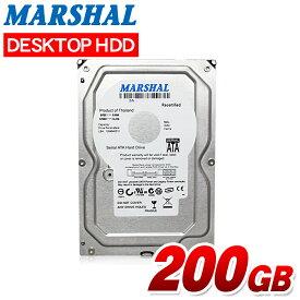 3.5インチ HDD SATA 200GB MARSHAL MAL3200SA-T72