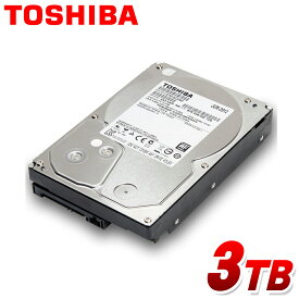 東芝 3.5インチ 内蔵 HDD 3TB SATA 7200RPM ハードディスク 新品バルク品 DT01ACA300