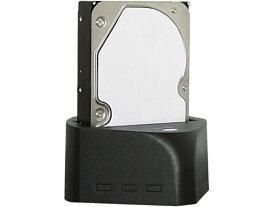 2.5インチ 3.5インチ SATA 対応 クレードル HDDスタンド USB3.0 CS5863 MARSHAL MAL-4935SBKU3 新品 箱B品