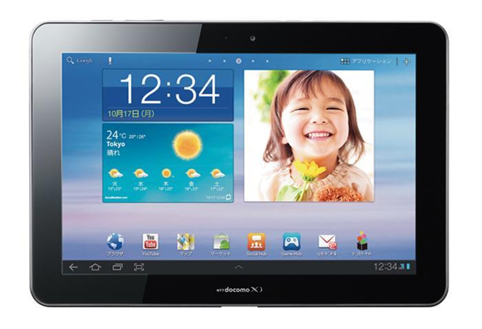 タブレット 中古 防水 GALAXY Tab 10.1 LTE SC-01D docomo Xi Android 16GB 10.1インチ WXGA カメラ ワンセグ