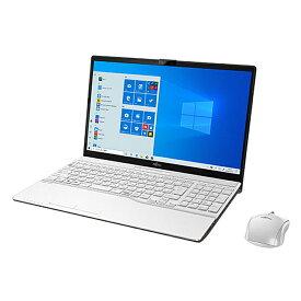 富士通 ノートパソコン Office付き 新品 同様 SSD Core i5 8GBメモリ SSD 512GB 15.6インチ フルHD Blu-ray Webカメラ WPS Office搭載 Windows10 FMV FUJITSU LIFEBOOK AH49/E FMVA49EWZ 訳あり