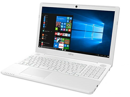 富士通 FMV LIFEBOOK AH77/B1FMVA77B1WG + Kingsoft Office15.6インチ タッチパネル付きフルHD液晶 Win10 Core i7 1TB Blu-ray 8GB