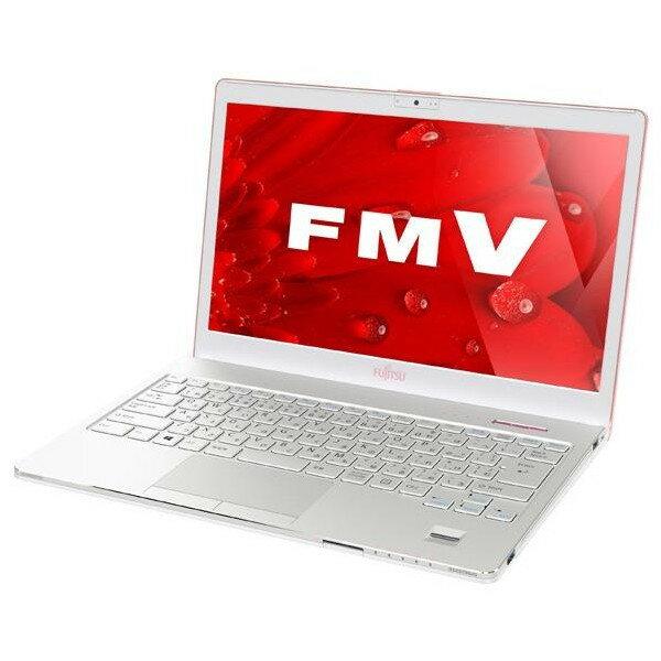 【スマホエントリーで10倍】富士通 モバイルノートPC FMV LIFEBOOK SH75/B1FMVS75B(限定カラー:サクラ)+ Kingsoft OfficeWin10 64bit Core i5 500GB 4GB DVD-RW 13.3インチ フルHD