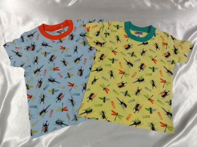 Blue MartINSECTS  半袖Tシャツ 100cm110cm120cm130cm激安!!SALE!!(メール便OK) いきなりセール中!!消費税込価格!!