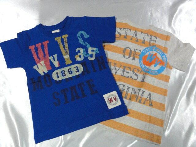 Blue Mart W.V.S. 半袖  Tシャツ 110cm120cm130cm激安!!SALE!!(メール便OK) いきなりセール中!!消費税込価格!!