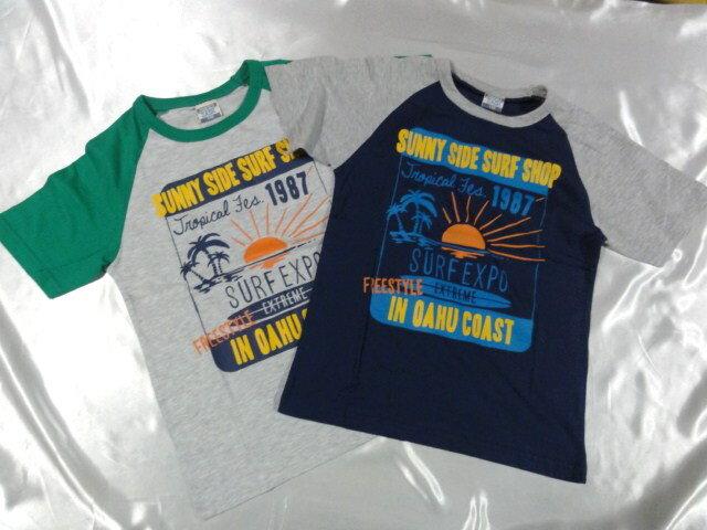 PERFECT DASH SUNNY SIDE SURF SHOP 半袖Tシャツ 140cm150cm160cm激安!!SALE!!(メール便OK) いきなりセール中!!消費税込価格!!