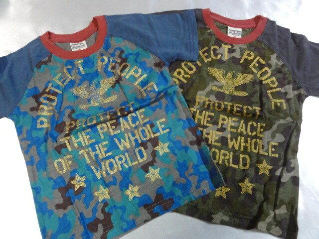 Blue Mart PROTECT PEOPLE 半袖  Tシャツ 110cm120cm130cm激安!!SALE!!(メール便OK) いきなりセール中!!消費税込価格!!