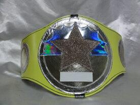 シマスポーツ製 チャンピオンベルト キッズサイズ パーティタイプ DX ライトグリーン