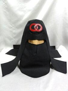 忍者 頭巾 DX  ブラック キャンパス生地  グレートムタ コスプレ ハロウィン にどうでしょ