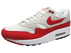 ナイキ エア マックス1 白赤 NIKE AIR MAX 1 ANNIVERSARYWHITE/UNIVERSITY RED