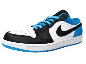 NIKE AIR JORDAN 1 LOW SE BLACK-LASER BLUE ナイキ エア ジョーダン 1 ロー レーザーブルー