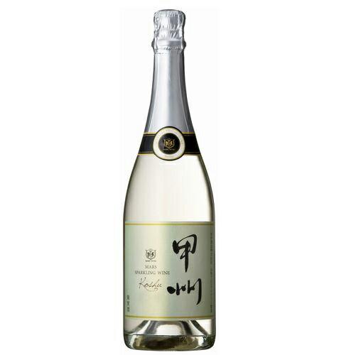 スパークリングワイン マルス 甲州 スパークリング [2015] 750ml 11% [本坊酒造 マルス山梨ワイナリー/山梨県 白ワイン 発泡 辛口/甲州]