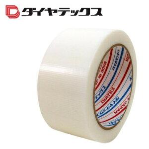 ダイアテックス パイオランクロス 床養生テープ 1個Y-06-WH 白 50mm×25m巻
