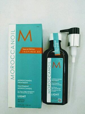 【モロッカンオイル】オイルトリートメントライト100ml(ポンプ付)【MOROCCANOIL】