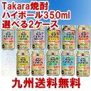 タカラ焼酎ハイボール人気フレーバー2種類選べる350ml缶2ケース(48本)【九州管内送料無料】※沖縄、離島、一部地域…