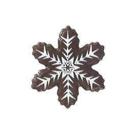 雪のきらら【クリスマス用チョコプレート】