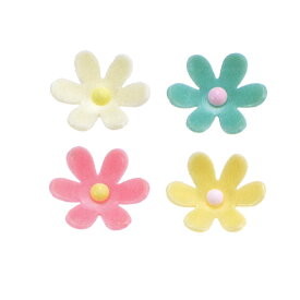 PC・フルールセット(花びら) 4色セット【飾り/チョコプレート/プラチョコ】