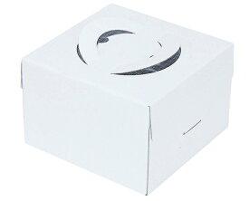 【ケーキ箱】キャリーデコ 5寸 ホワイト
