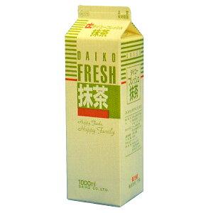 【注文後取り寄せ商品】【生クリーム】大弘フレッシュ抹茶(乳脂肪分36%) 1L