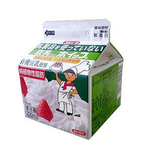 豆乳入りホイップ200ml