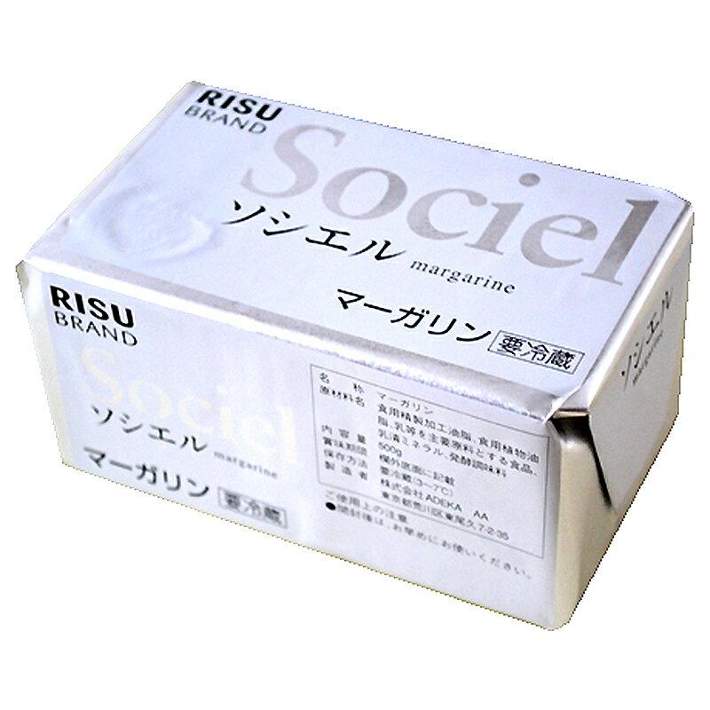 ソシエル(無塩マーガリン) 500g