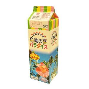 【氷みつ(氷ミツ)】南のパラダイス 桃(ピーチ) 1L