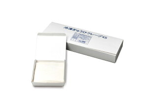 【注文後取り寄せ商品】【いちご大福に】冷凍ぎゅうひ(求肥)クレープ【白】12cm角 45枚